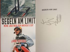 Jimmy Spithill - Signiertes Buch